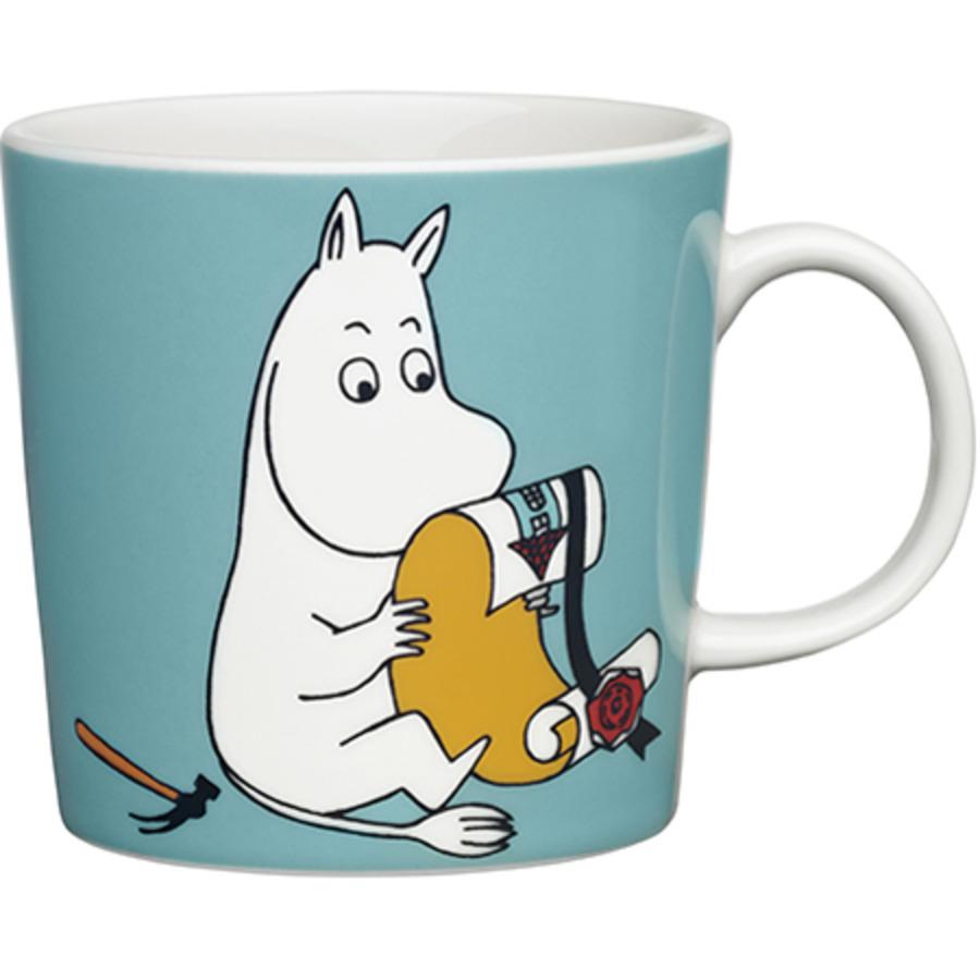 Moomin_mug0.3L_Moomintroll_turquoise_1