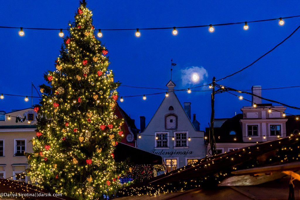 Таллин накануне Рождества