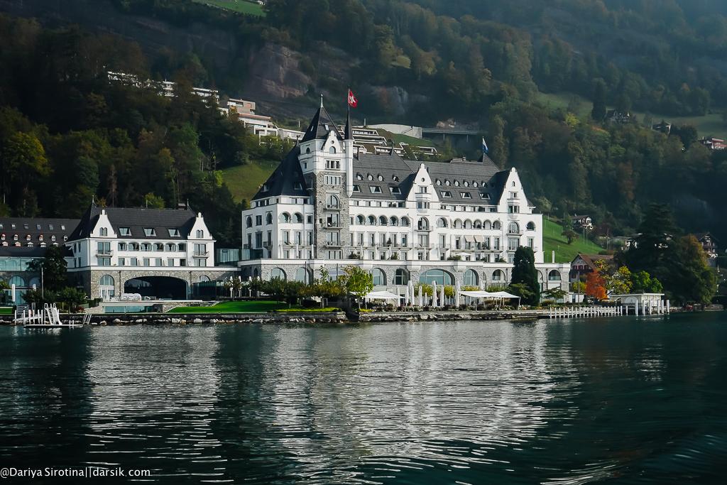 Park Hotel Vitznau: жемчужина Люцернского озера