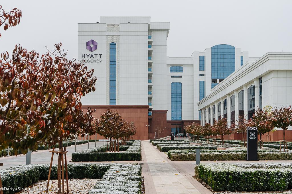 Лучший отель в стране: Hyatt Regency Tashkent
