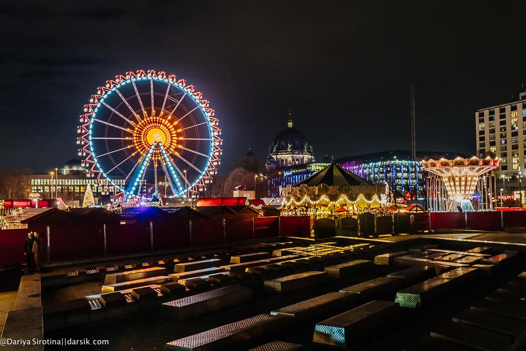 Очень красивый рождественский Берлин
