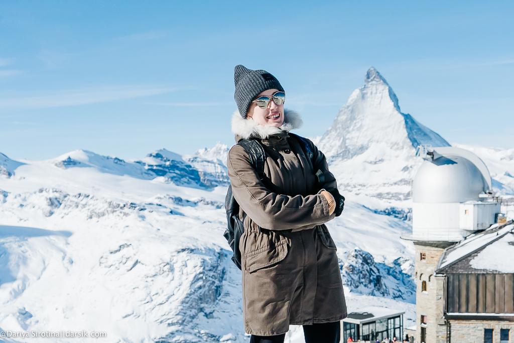 Покорила Швейцарские Альпы!