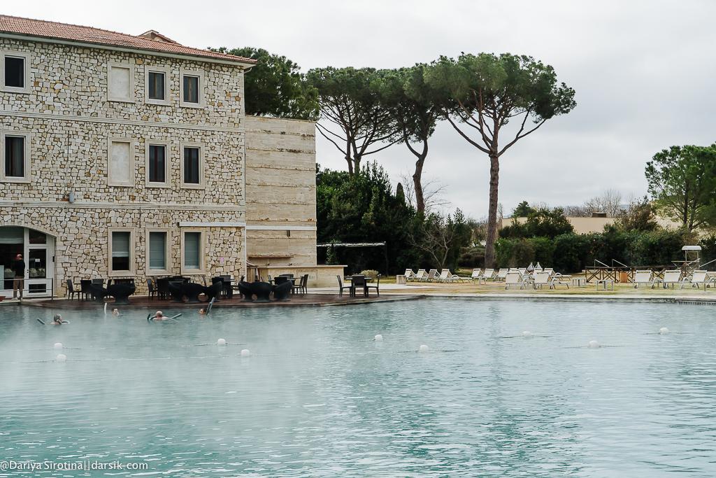 Почему Terme di Saturnia - мой любимый курорт
