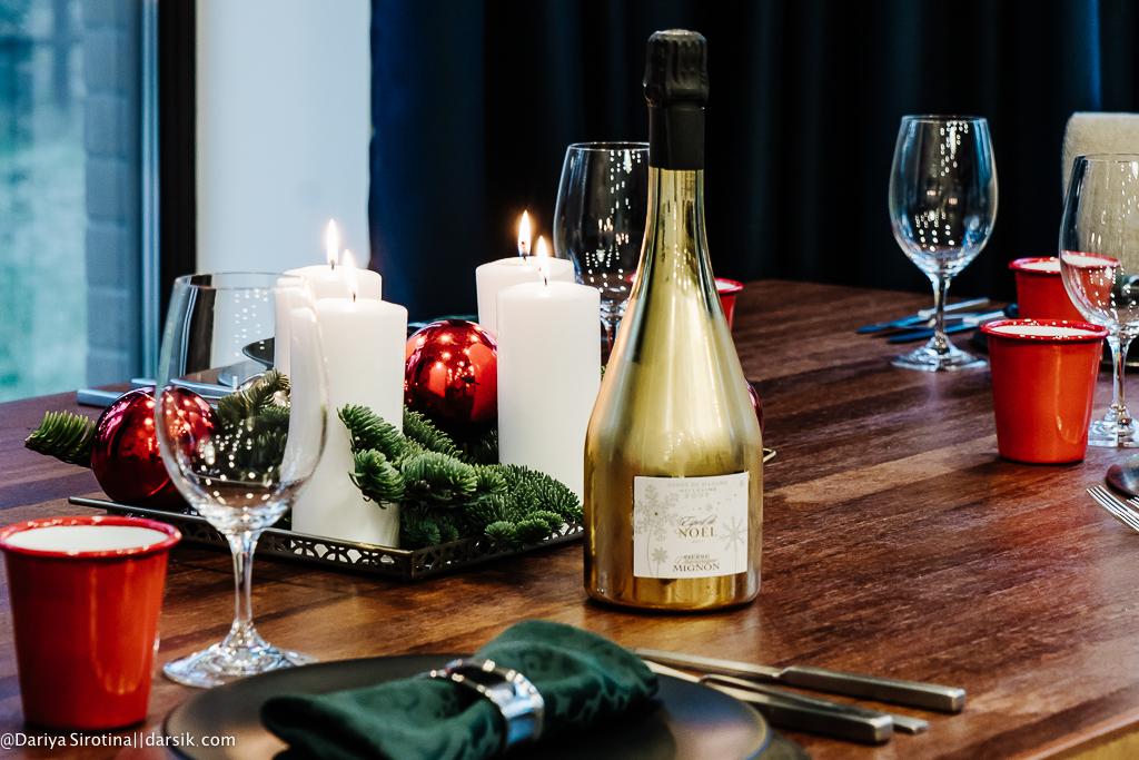 Только шампанское! Французский праздничный обед - с рецептами.