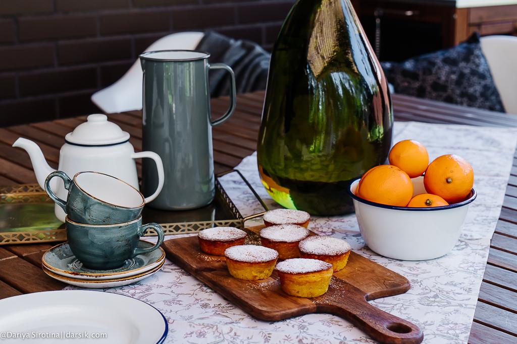 Как в Италии: лимонные кексы с рикоттой