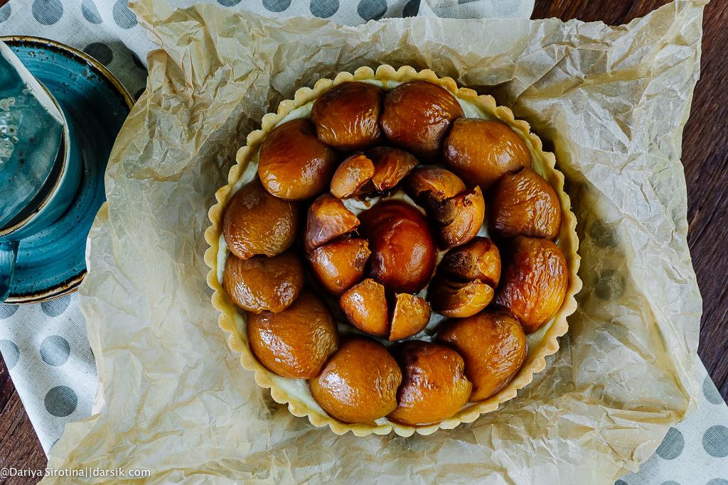 Макушка лета - абрикосовый тарт