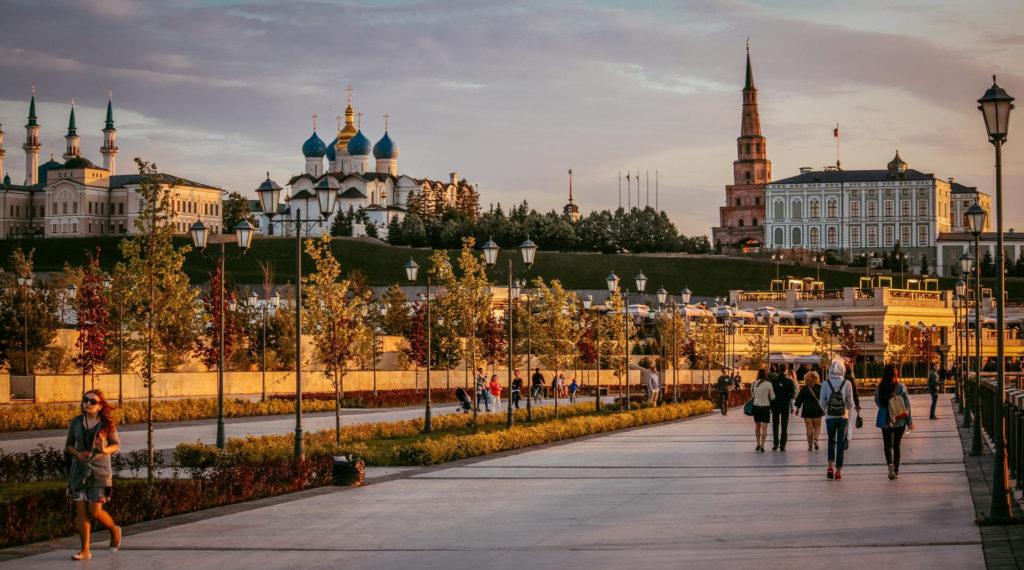 Куда поехать в России: Казань