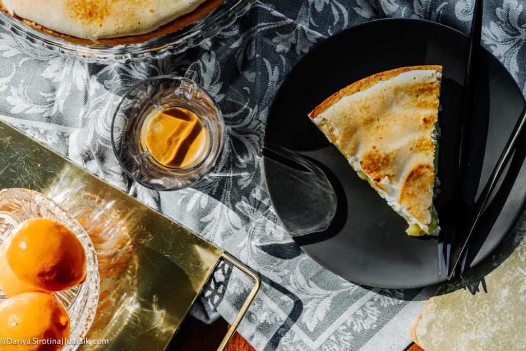 Эталонный лимонный пирог с меренгой