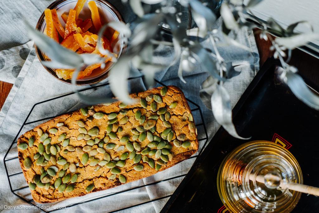 Ломтик солнца: тыквенный кекс с апельсином