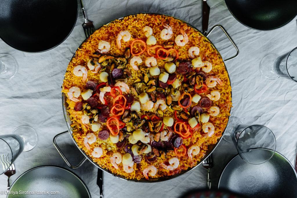 Как в Испании: летний воскресный обед