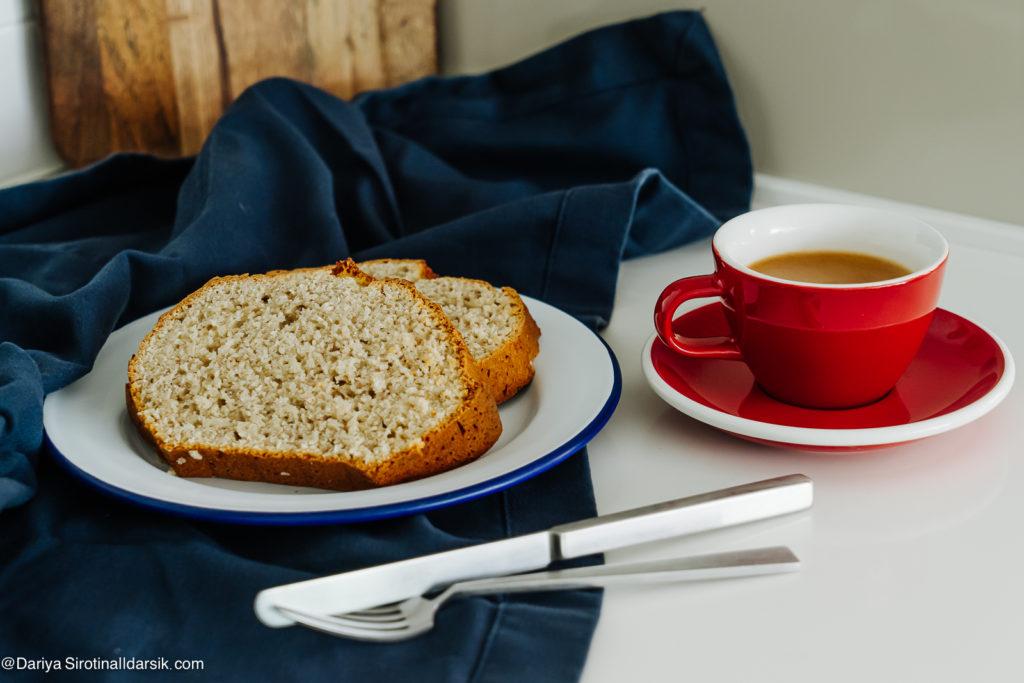 Как в Австралии: кокосовый хлеб к завтраку